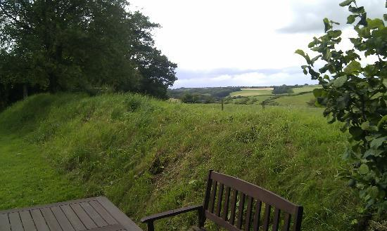 South Coombe Country Cottages: View from back door