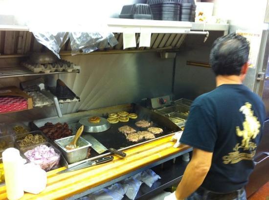 Chuck Wagon of Mackinac: the awesome chef!