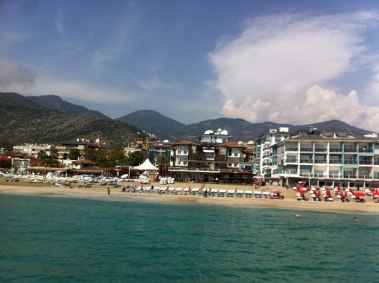 Palmiye Beach Hotel: palmiye beach