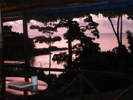 Hotel Las Caletas Lodge : View from our dining room