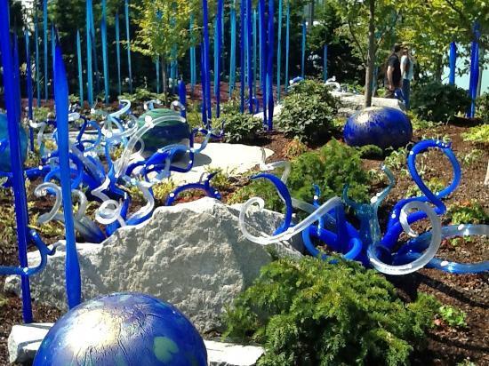 seattle art museum garden - Glass Garden Seattle