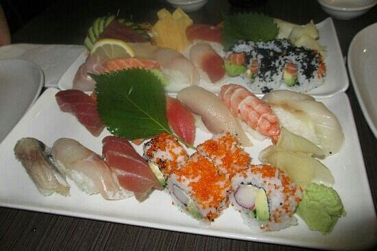 Wasabi Tepanyaki: sushi