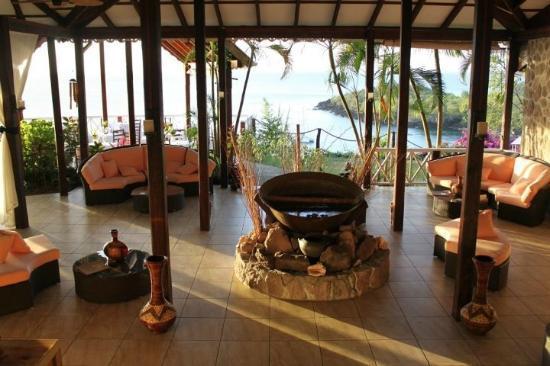 Ti Kaye Resort & Spa: Main reception area