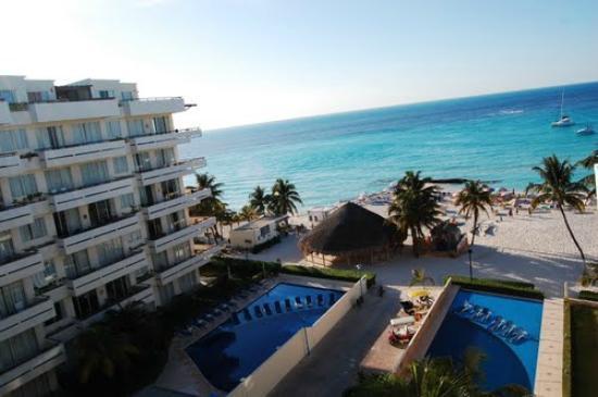 Ixchel Beach Hotel Ph View From Condos North Isla