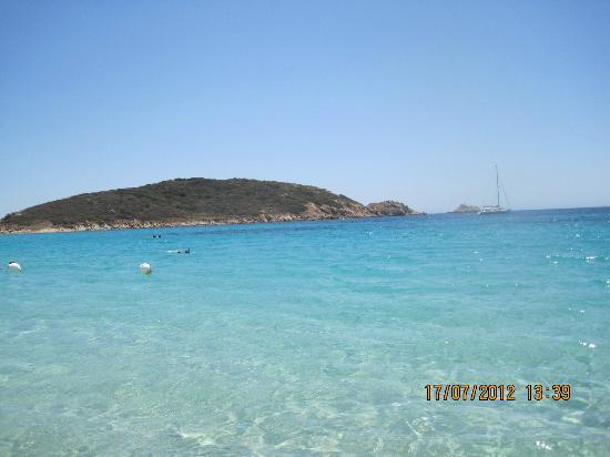 Spiaggia di Tuerredda: L'isolotto