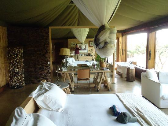 Singita Faru Faru Lodge: room