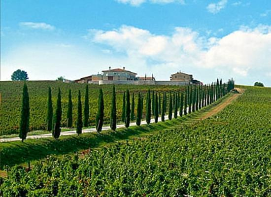 Cantalupo, Italy: Colsanto on the hill was a beautiful sight