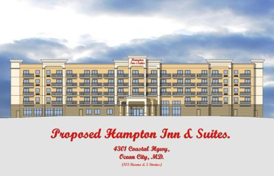Hampton Inn & Suites Ocean City: Hotel Exterior