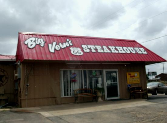 Big Vern's Steakhouse: home of the best chicken Fried Steak in Texas
