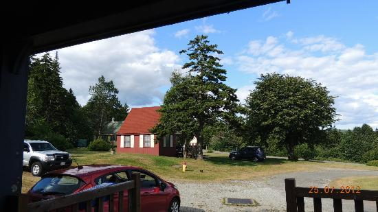 Fundy Highlands Motel & Chalets: A view from room