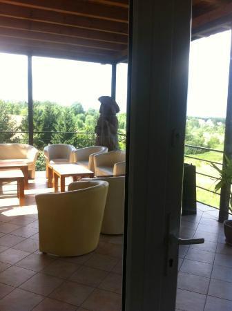 Hotel Na Skarpie: widok ze śniadalni