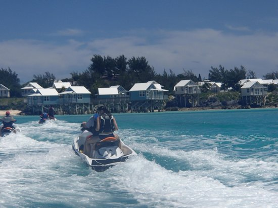 The Reefs:                   Jetskiing
