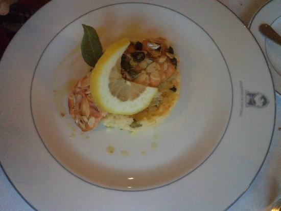 Pousada de Ourem - Fatima Historic Hotel: Salmone grigliato