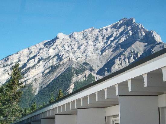 Banff Voyager Inn: Vue de notre balcon