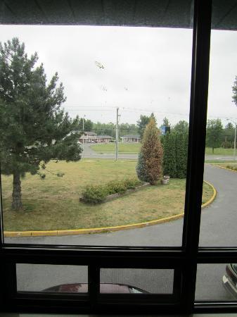 Comfort Inn : Dalla finestra (con vetri sporchi!)