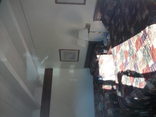 Banff Voyager Inn: Chambre vue du balcon