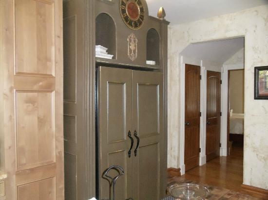 The Branson House: The kitchen ...refrigerator