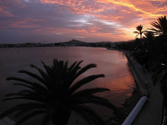 Hotel Ses Figueres: Blick aus einem der oberen Zimmer