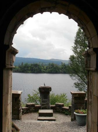 St Conan's Kirk: View to Loch Awe