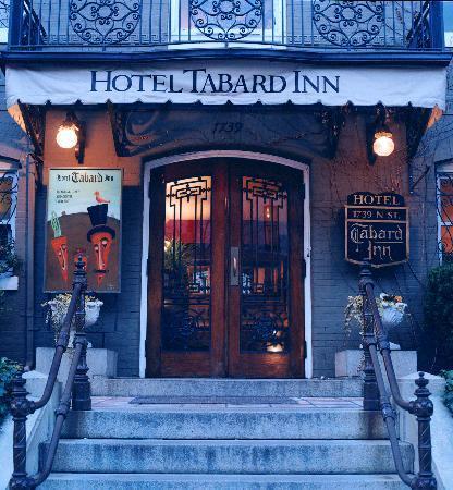 Tabard Inn: Front Door