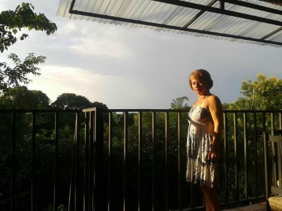 Hotel Paraiso Carlisa: al amanecer en la terraza