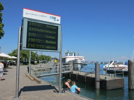 Ibis Konstanz Hotel : Lake Constance marina