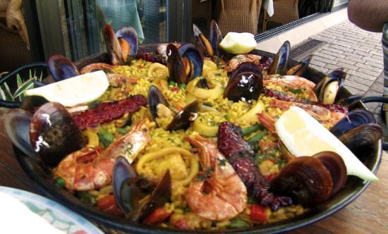 Sa Cova: Mixed Seafood Paella!