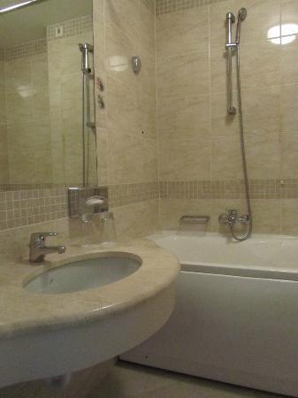 PK Riga Hotel: Bathroom