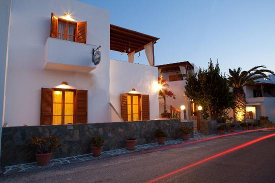 Cyclades Hotel and Studios: external view
