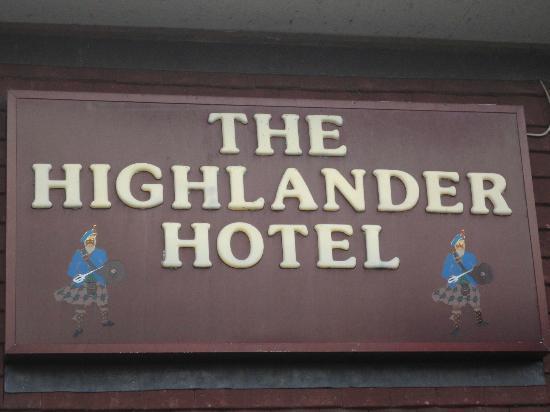 Highlander Hotel: Hôtel