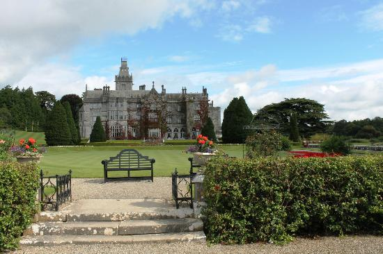 Adare Manor : View from the gardens