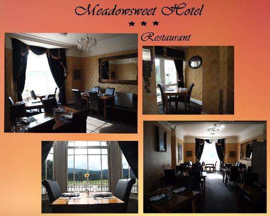 The Meadowsweet Hotel: Our restaurant, Lle Hari