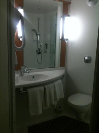 Ibis Manosque Cadarache: salle de douche