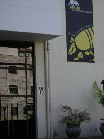 Natural Sciences Museum: Portaria de entrada
