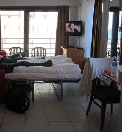 Aparthotel Blankenberge : kamer