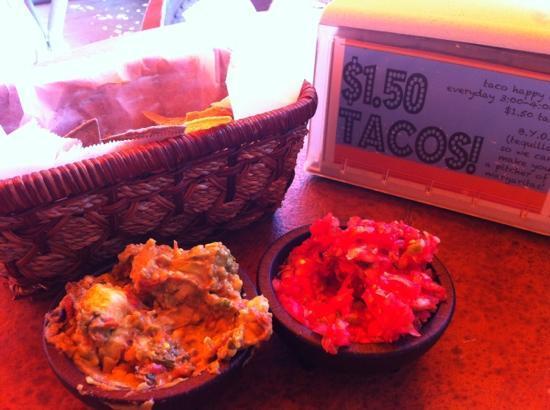 Real Enchilada: Chips, salsa & guacamole