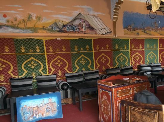 Salle Interieure de Chez Kherfa a Essaouira