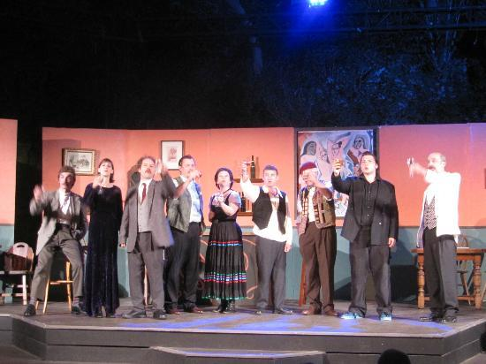 Alley Stage: A Toast to the Twentieth Century-- Picasso at the Lapin Agile