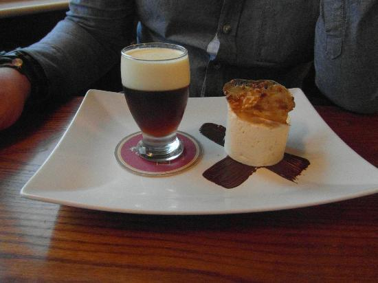 The General Burgoyne: hubbys pud....peanuts and a pint (a must try)