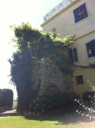 Hotel Villa Clodia: particolare del balcone della stanza 11 (quella in cui ho soggiornato e consiglio vivamente)