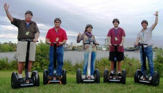 I-Drive Segway Safari: Friends and family, good days, great times on safari...