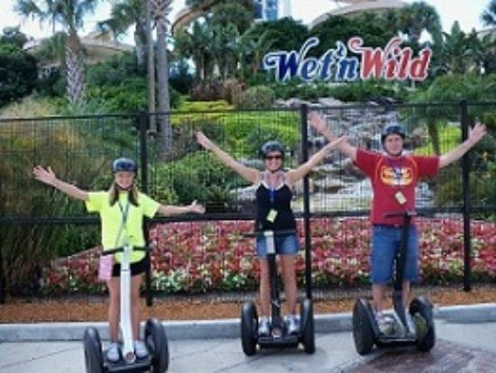 I-Drive Segway Safari: Photo Op at Wet N Wild