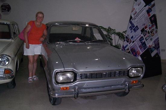 Museo de Coches Clásicos de Malta: Mk1 Ford Escort, I passed my test in one of these.