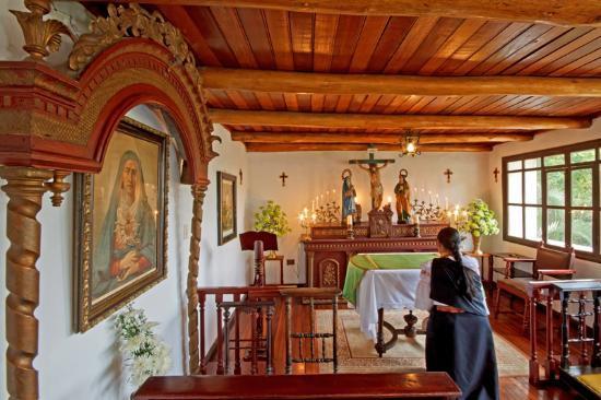 Hacienda- Hosteria Chorlavi: Capilla