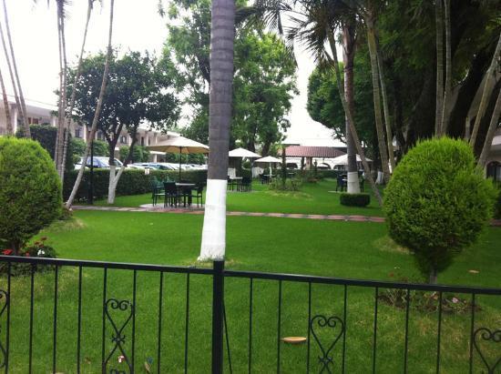 Malibu Hotel: Jardin del Hotel Malibu