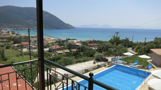 Katerina Resort: View from the balcony