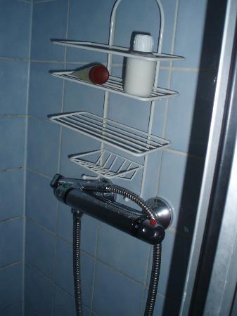 Manoir de la Grande Mettrie : la douche