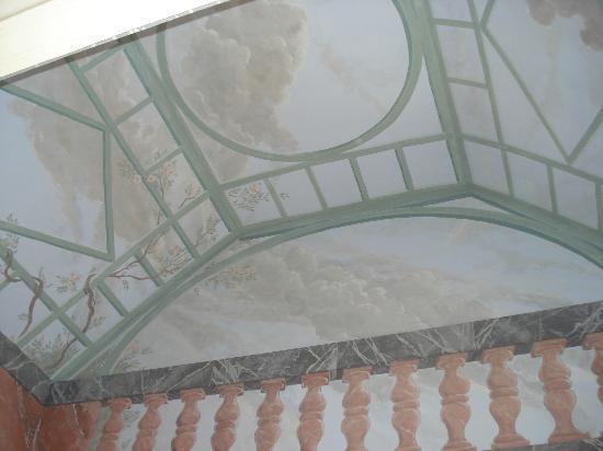 Hotel Palacio Marques de la Gomera: Detalle del fresco.