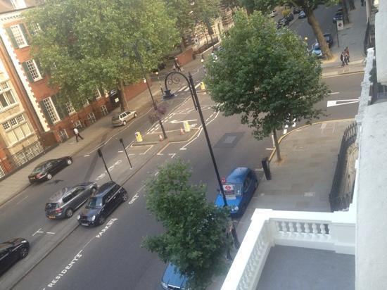 The Queen's Gate Hotel: vista dalla stanza