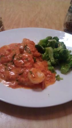 Yes Pasta!: Salmon & Shrimp dish with broccoli